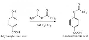 Laboratory method of preparation acetic acid